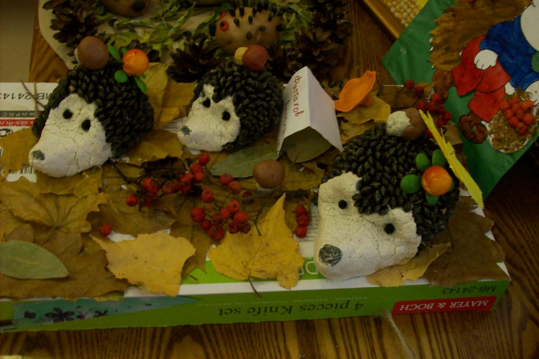 Осенняя поделки в садик фото